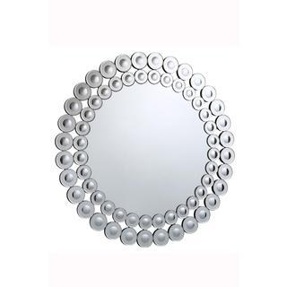 Somette Bristow 39.4-inch Round Geometric Mirror