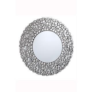 Somette Bristow 35.5-inch Round Geometric Mirror