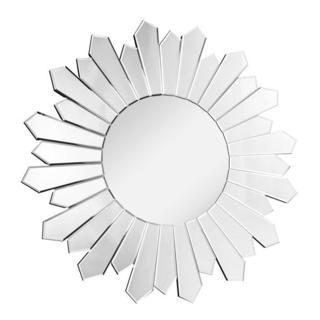Somette Bristow 39.4-inch Round Sunburst Mirror