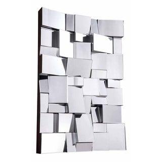 Somette Bristow Rectangular Geometric Mirror