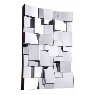 Somette Bristow Rectangular Geometric Mirror