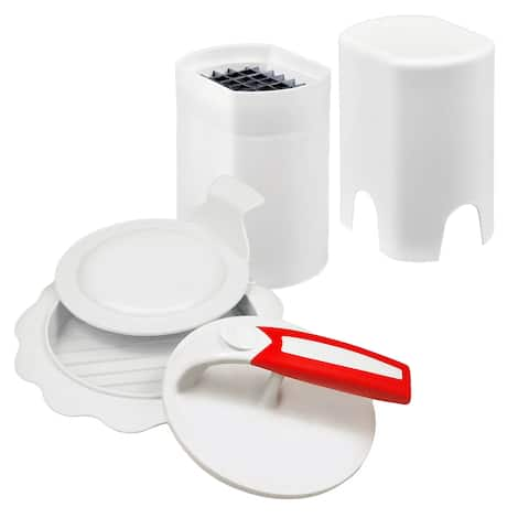 KitchenWorthy Burger and French Fry Set (Case of 18)