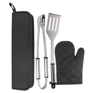KitchenWorthy 4-piece BBQ Tool Set