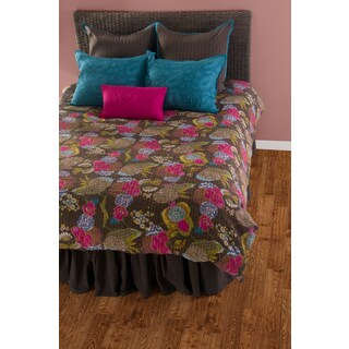 Rizzy Home Brown/Multicolor 8-piece Comforter Set