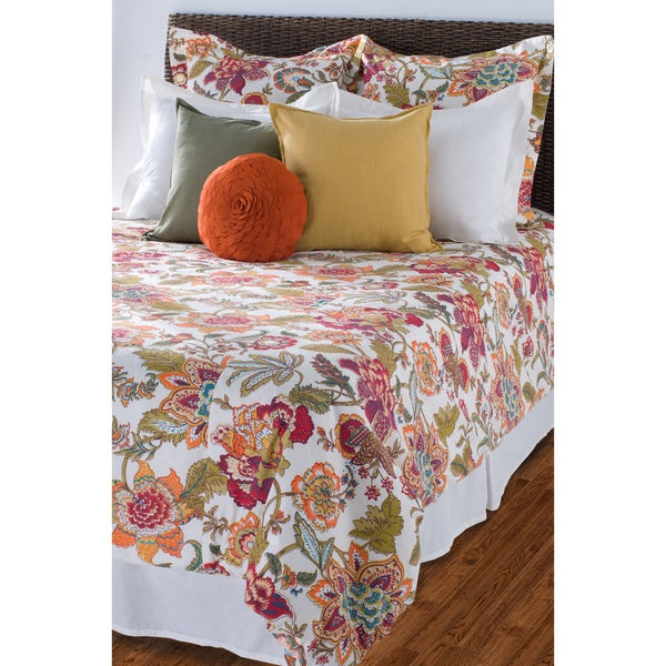 Rizzy Home Ivory Comforter Set
