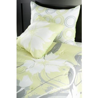 Rizzy Home Yellow Comforter Set