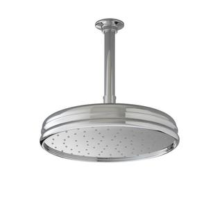 Kohler 1-spray Traditional Round Rain Showerhead in Brushed Nickel