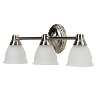 Kohler Forte Transitional 3-light Vibrant Brushed Nickel Wall Sconce