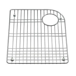 Kohler Executive Chef 17-5/8 inch x 14-1/4 inch Bottom Basin Rack for Left-hand Basin Sinks in Stainless Steel