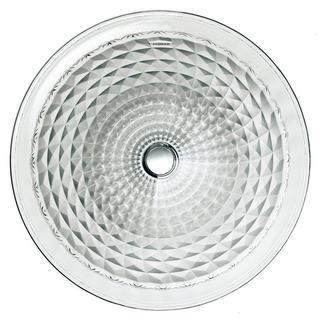 Kohler Kallos Undermount Bathroom Sink in Ice