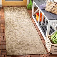 Safavieh Mayaguana Brown/ Natural Indoor/ Outdoor Rug - 2'3 x 8'