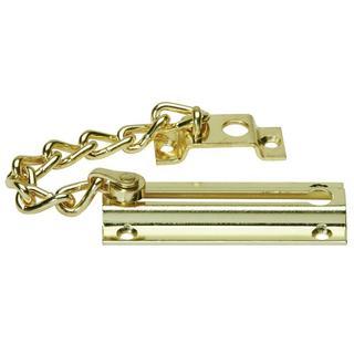 Schlage Bright Brass Chain Door Guard