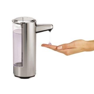 Simplehuman Rechargeable Bath Sensor Pumpbrushed Nickel|https://ak1.ostkcdn.com/images/products/10470008/P17560431.jpg?impolicy=medium