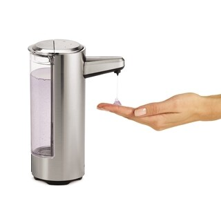 Simplehuman Rechargeable Bath Sensor Pumpbrushed Nickel