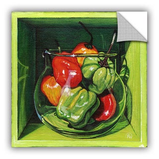 ArtAppealz Paige Wallis 'Habanero' Removable Wall Art