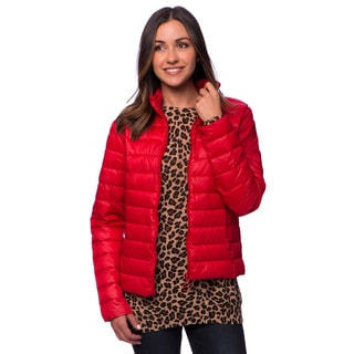 Women's Sport Faux Down Jacket