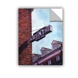 ArtAppealz Paige Wallis 'Absinthe Minded' Removable Wall Art