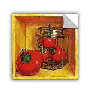 ArtAppealz Paige Wallis 'Cherry ' Removable Wall Art