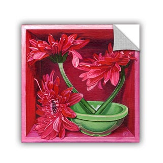 ArtAppealz Paige Wallis 'In A Magenta Mood' Removable Wall Art (4 options available)