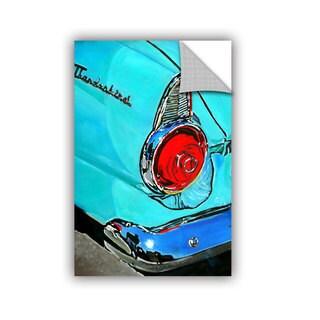 ArtAppealz Vel Verrept '1955 Thunderbird' Removable Wall Art