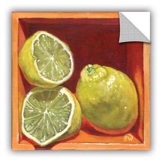 ArtAppealz Paige Wallis 'Luscious Lemon' Removable Wall Art