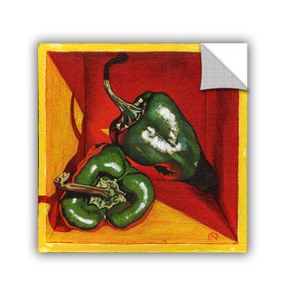 ArtAppealz Paige Wallis 'Poblano' Removable Wall Art