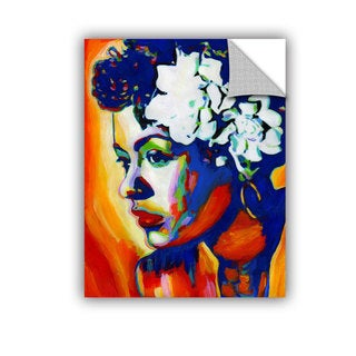 ArtAppealz Vel Verrept 'Lady Day' Removable Wall Art