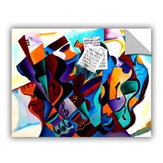 ArtAppealz Vel Verrept 'Gravity' Removable Wall Art