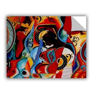 ArtAppealz Vel Verrept 'Flamenco' Removable Wall Art