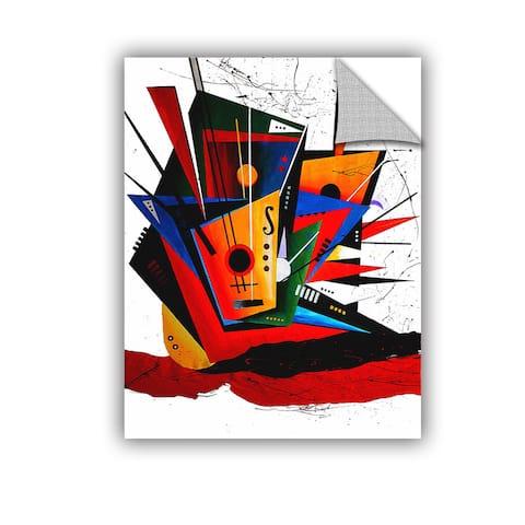 ArtAppealz Vel Verrept 'Forte' Removable Wall Art