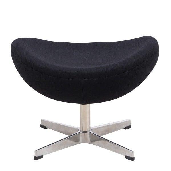 Shop Leisuremod Zane Modern Lounge Chair And Ottoman