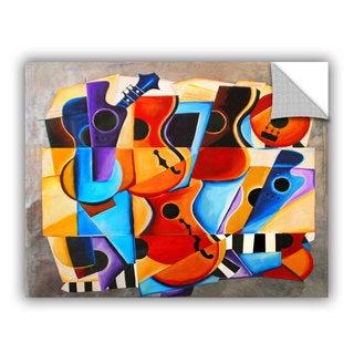 ArtAppealz Vel Verrept 'Harmony' Removable Wall Art