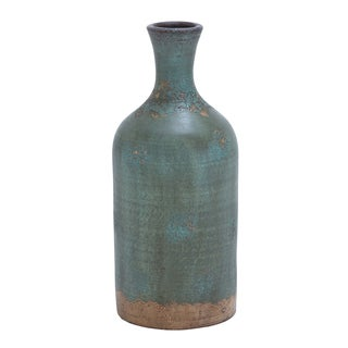 The Gray Barn Jartop Rustic Distressed Terracotta Flower Vase