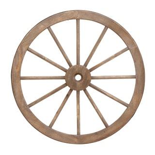 Western Wagon Wheel Wall Sculpture