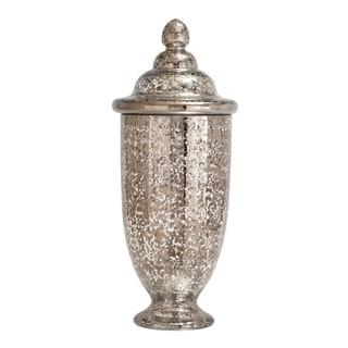 Fluted Glass Mercury Urn