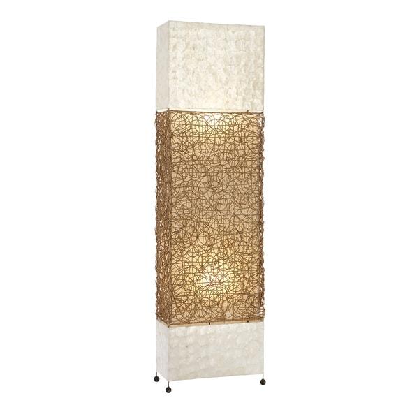 capiz-shell luminaire floor lamp - free shipping today - overstock