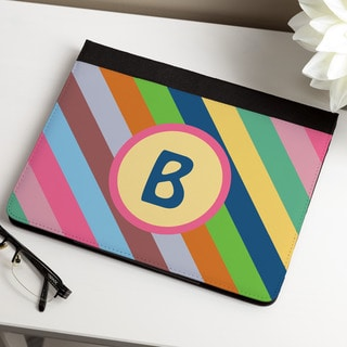 Colorful Stripes Personalized iPAD Case