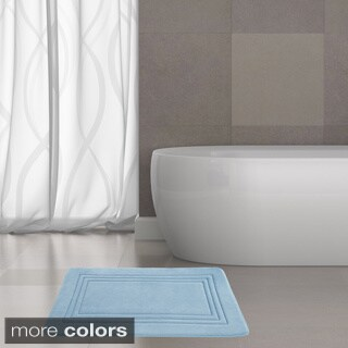 Amrapur Overseas Echo Embossed Memory Foam Bath Mat (21 x 34)