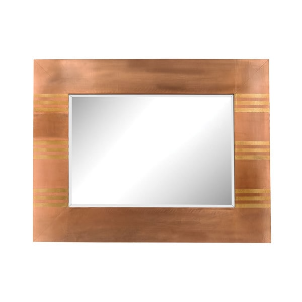 Shop Dimond Home Copper Frame Mirror With Gold - On Sale - Free ...
