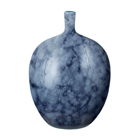 Dimond Home Midnight Marble Bottle (Large)