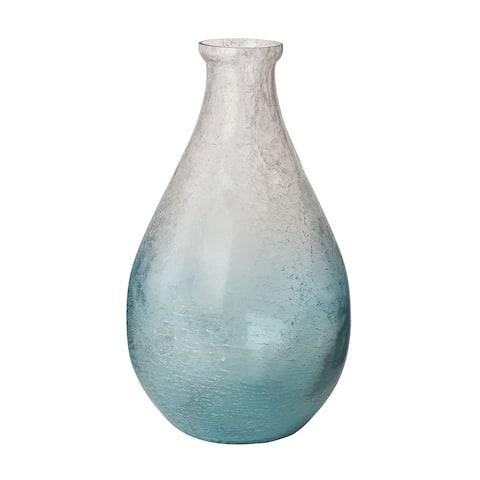 Dimond Home Ombre Glacier Teardrop Vase