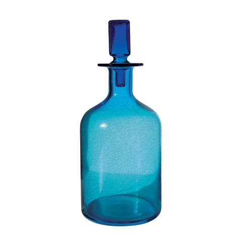 Dimond Home Pool Blue Decanter (Large)