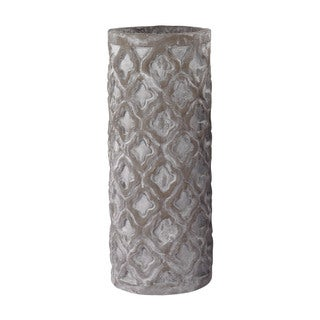 Dimond Home Tall Antique Gray Vase With Organic Pattern
