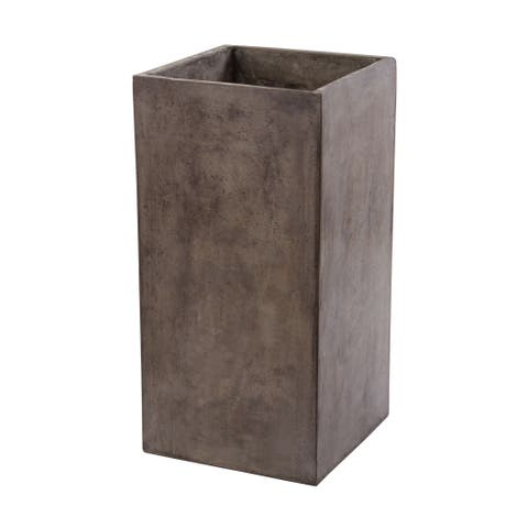 Dimond Home Short Al Fresco Cement Planter