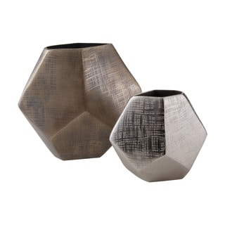 Dimond Home Faceted Cube Vases