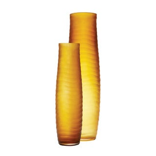 Dimond Home Umber Matte Cut Vases (Set of 2)