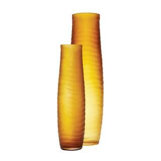 Dimond Home Umber Matte Cut Vases (Set of 2)