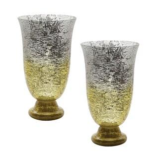 Dimond Home Lemon Ombre Flared Vase (Set of 2)