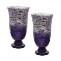 Dimond Home Plum Ombre Flared Vase (Set of 2)