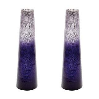 Dimond Home Plum Ombre Snorkel Vase
